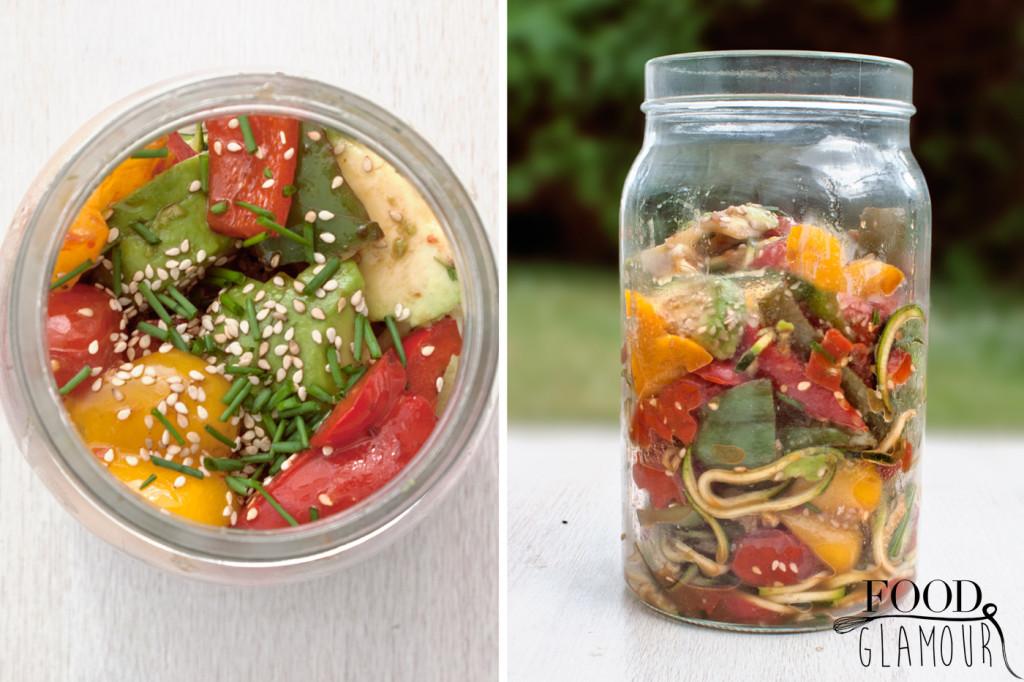 groenten-balsamico-sesam-salade-pot