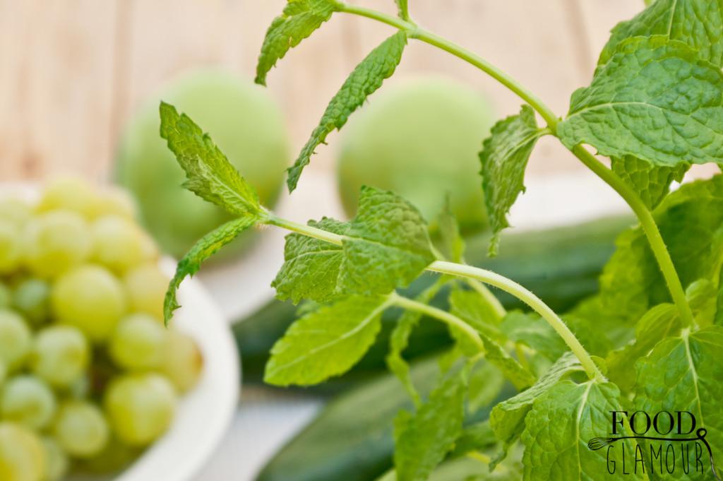 mojito druiven-limoen-komkommer-munt