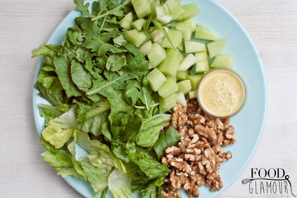 walnoot-honing-salade