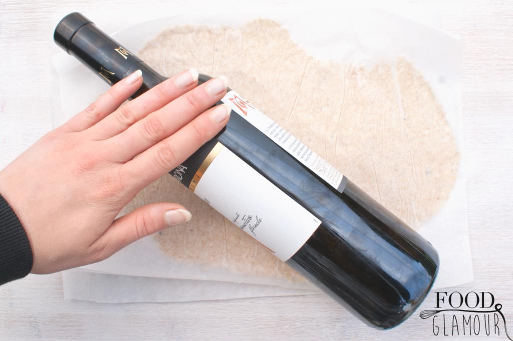 wijnfles-plat-rollen