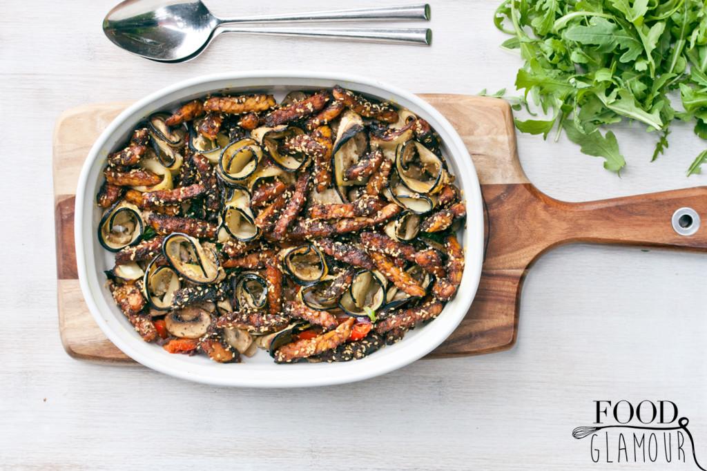 Aubergine,-tempeh,-gekruid,-oven,-recept,-vegan,-diner,-paleo,-foodglamour,-food,-glamour