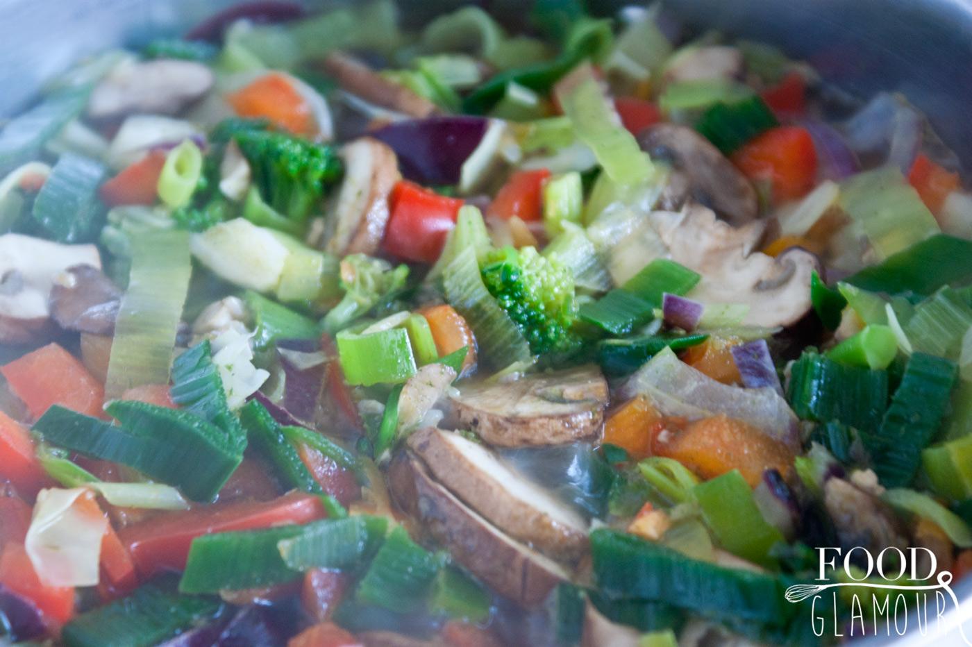 ingredienten groentesoep
